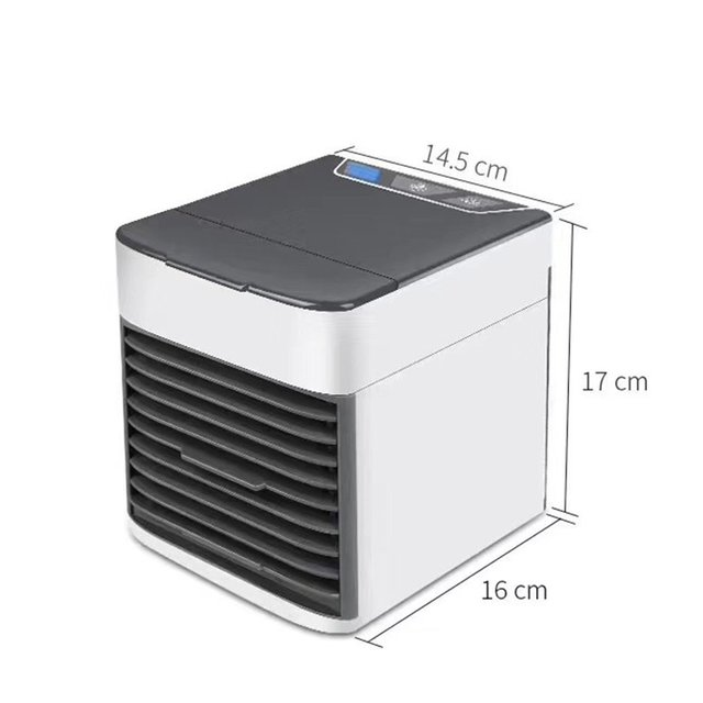 Usb Charging Cooling Fan Small Refrigeration Air Conditioning Fan Small Water Refrigeration