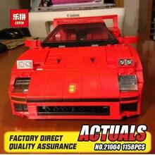 IN STOCK 1158pcs LEPIN 21004 F40 Sports Car Model Building Blocks Kits Bricks Toys For font