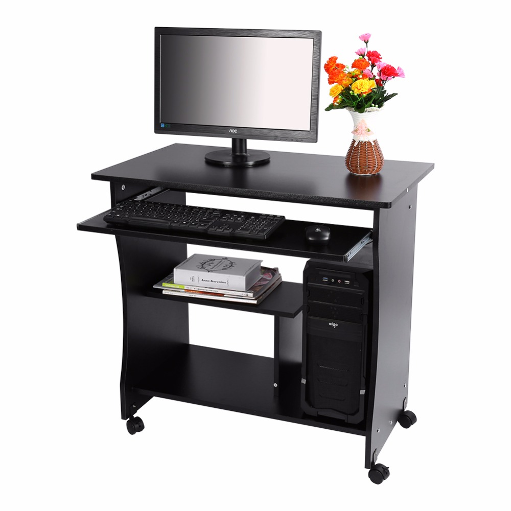 Popular pc furniture desks buy cheap pc furniture desks lots from china pc furniture desks - Cheap black desks ...