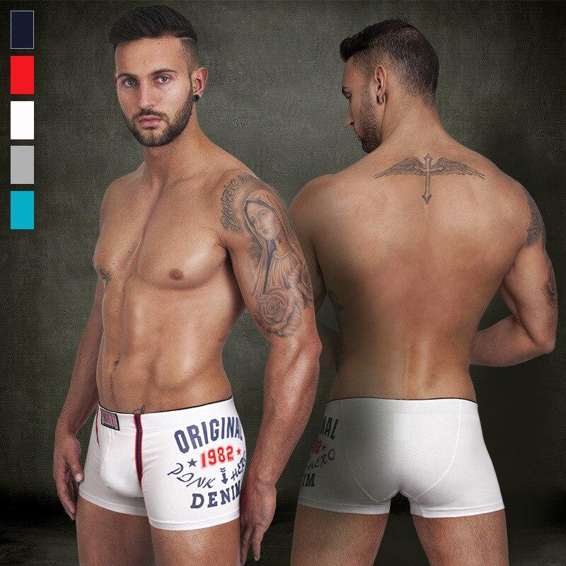 Pink Hero Brand Male Panties Sexy Underwear Men's Boxers Top Quality Modal Underwear Shorts Men Boxer Hombres Boxeador
