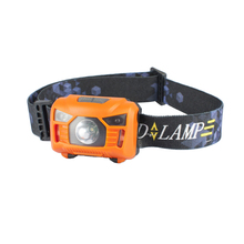 LED Sensor Headlamp Mini Headlight with Headband Camping Fishing Flashlight Head Torch Lamp  LB88
