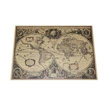 2 uds mapa 72,5*51,5 cm cartel de retrato Vintage caracteres religiosos cartel europeo antiguo retratos kraft papel cartel