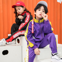 Fashion Big Boys Clothes Autumn Teenage Girls Clothing Set Hip Hop Streetwear Sport Suit for Children Boy Jazz 4-18Y