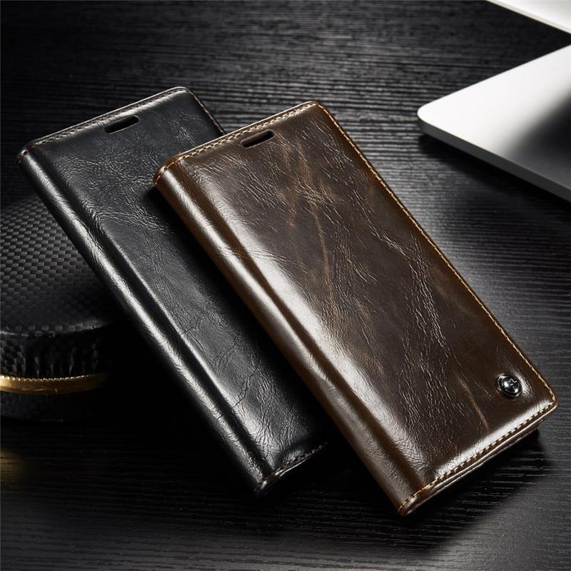 imágenes para Cajas Del Teléfono de lujo para Sony Xperia Z3 Z4 Z5 Caso de Cuero para Sony Z 3 Z 5 Dual Cubierta Del Soporte Del Tirón Magnético Monedero Portatarjetas de los Bolsos