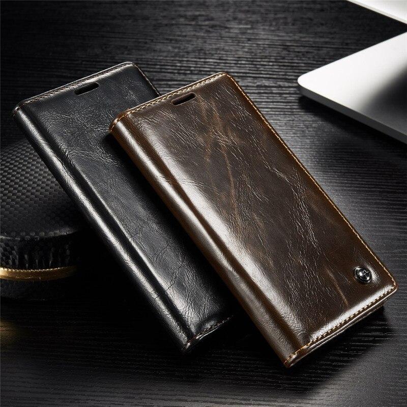 Cajas de teléfono de lujo para Sony Xperia Z3 Z4 Z5 Funda de cuero para Sony Xperia Z 3 Z 5, Flip magnético, cubierta cartera bolsas titular de la tarjeta