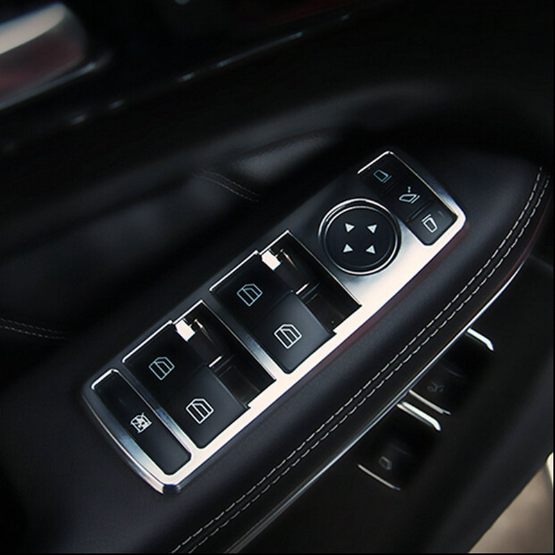 Aliexpress Com Buy New Car Interior Matt Chrome Door