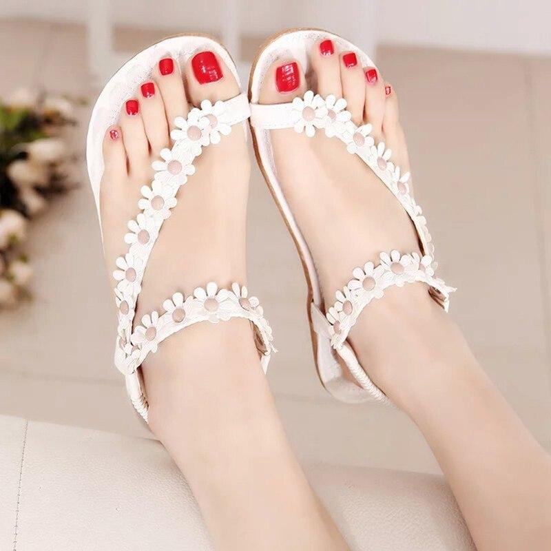 25490dbe40aca Women shoes sandal comfort flower women beading 2018 new arrivals ...