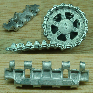 Assembly model 1/35 German VK1602 model tank 1:35 metal track and driving wheel Retrofit parts favourite 1602 1f