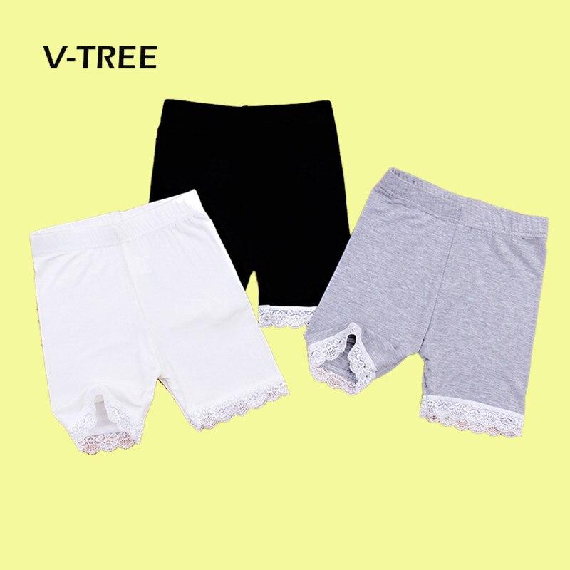 Летние Шорты для девочки кружева девушки Сафти шорты штаны детские пляжные штаны шорты детские штаны детские брюки для детей 2-10 лет