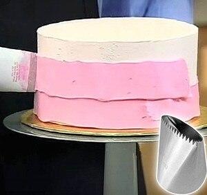 Image 1 - גדול במיוחד ציפוי צנרת חרירי עוגת קישוט עוגות טיפ סטי יצק עוגת כלים פלדת זרבובית סט DIY עוגת קישוט טיפים se