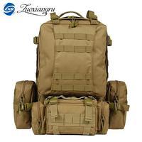 50 Liters Large Capacity Multifunction Men 39 S Travel Backpack High Quality Removable Trekking Rucksacks Men