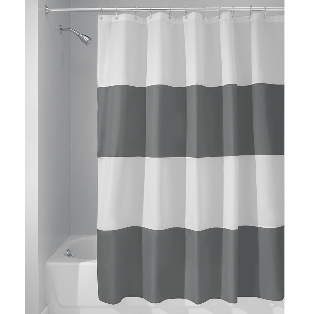 Online Get Cheap White Gray Curtains Aliexpresscom Alibaba Group - Beige and gray shower curtain