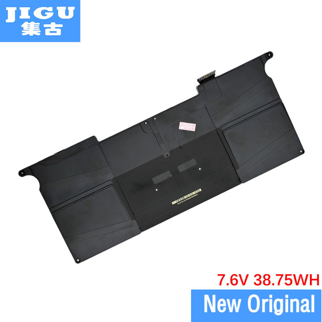 "JIGU A1406 Original Laptop Battery For APPLE for MacBook Air 11"" A1370 [2011 Production] A1465 [2012 Production]"