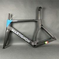도로 자전거 전체 탄소 프레임 carbono 섬유 프레임 블랙 블루 고강도 크기 48/51/54/56/58 센치메터 광택/매트 UD 표면