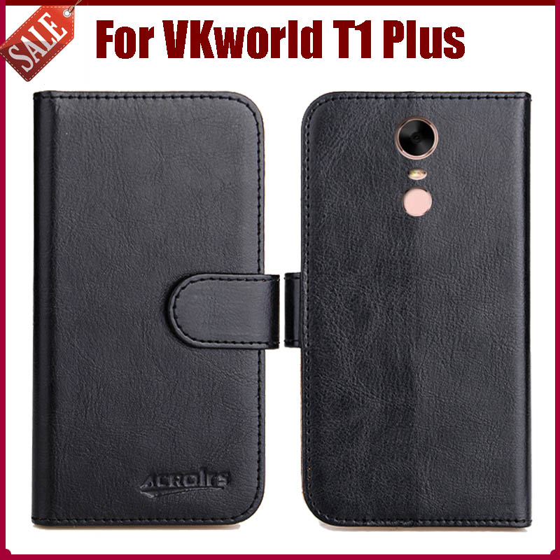 new styles 382e2 90c6f US $4.59 8% OFF|Hot Sale! VKworld T1 Plus Case New Arrival 6 Colors High  Quality Flip Leather Protective Phone Cover For VKworld T1 Plus Case-in  Flip ...