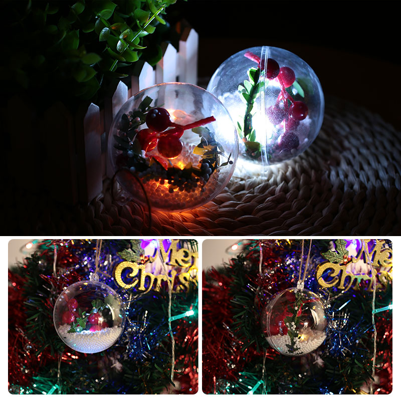 Светящийся Рождественский светящийся шар, блестящий настенный светильник для отеля, для свадебной вечеринки, домашний декор, Рождественская елка, подвеска, сделай сам, Рождественский шар, Декор