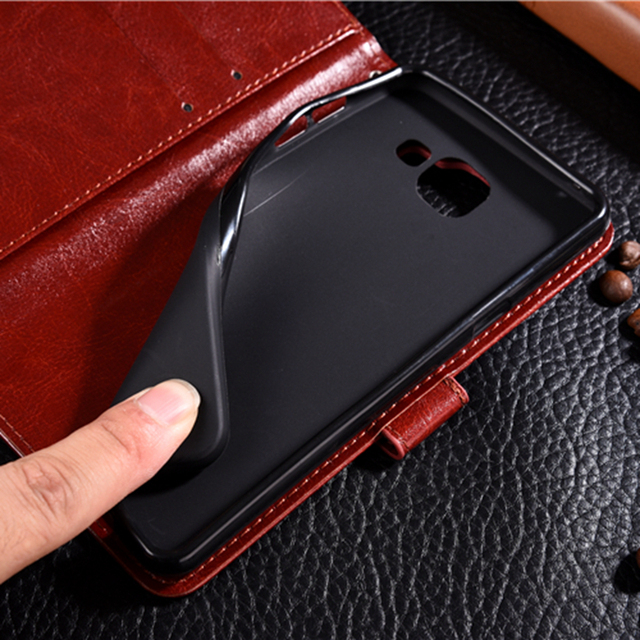 Leather Phone Case For Samsung Galaxy A3 A5 A7 2016 J3 J5 J7 Neo J701 2017 J5 J7 J2 Prime A8 A6 2018 S9 Plus Flip Wallet Cover 4
