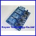 10 pcs 4 canal módulo de relé 4-channel relé da placa de controle com optoacoplador. Saída de relé módulo de relé de 4 vias para arduino