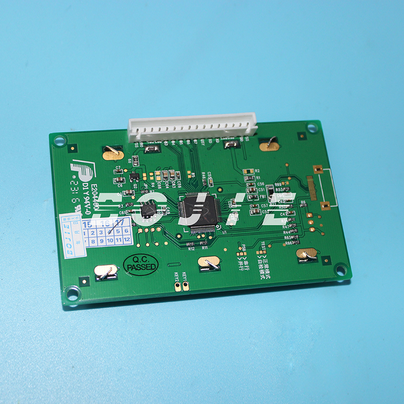LCD display board for Dika solvent printer galaxy solvent printer keypad board