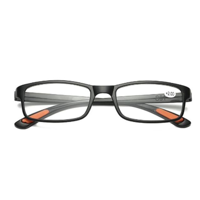 Material de Resina óculos de Leitura Óculos de mulheres Homens ultra-leve Masculino  Feminino Óculos abd50e9184
