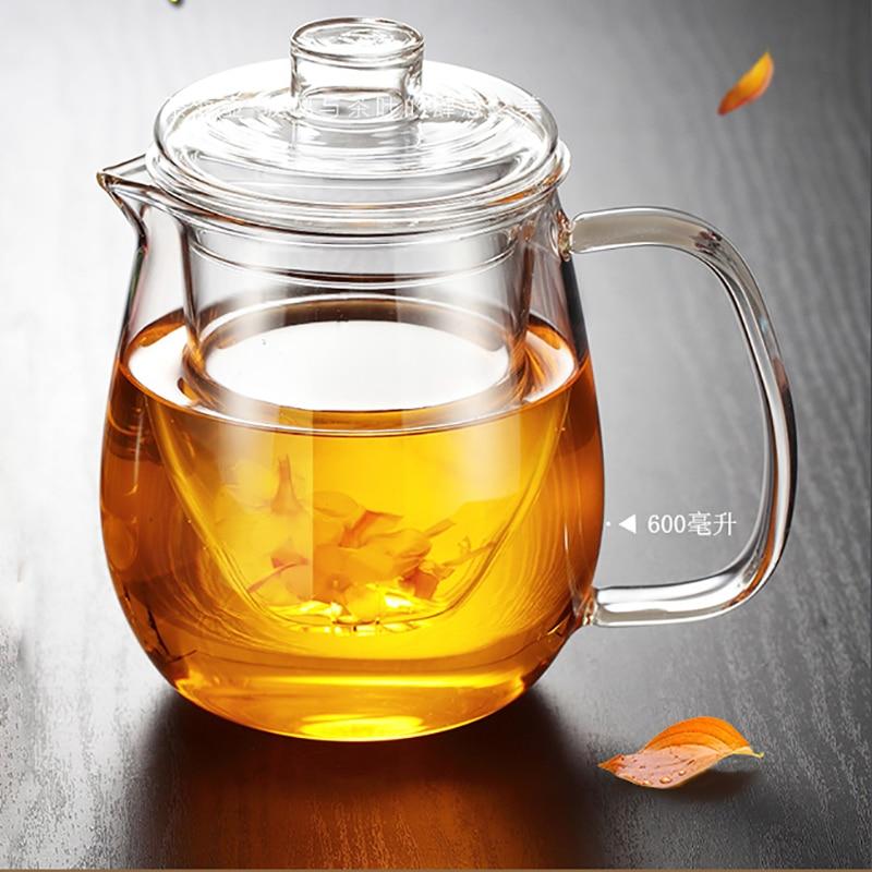 Kitchen Kettle Village Coupons: Glass Teapot Flower Kettle Puer Coffee Pot Penguins Style