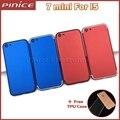 Rojo azul cubierta para iphone 5 como i7 reemplazo volver cubierta de la batería carcasa trasera para iphone 7 mini