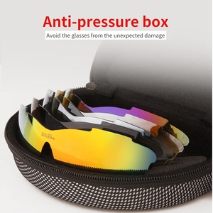 Image 5 - Polarized Cycling Glasses Bike Outdoor Sports Bicycle Sunglasses For Men Women Goggles Eyewear 5 Lens Cycling Glasses MTB