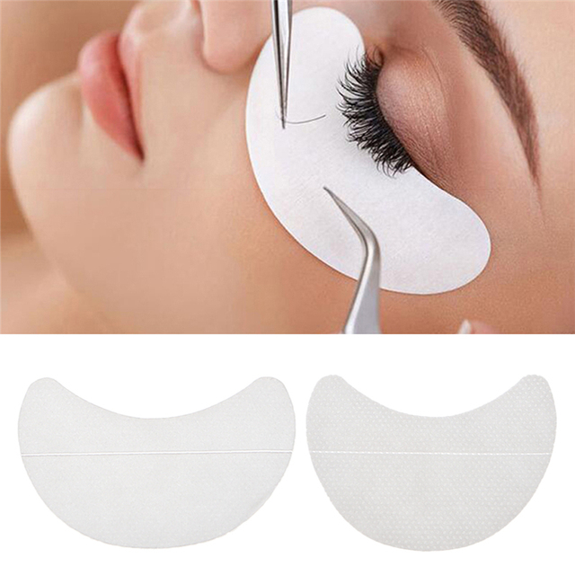10 Pcs Paper Patches Under Eye Pads Eyelash Extension Tips Sticker