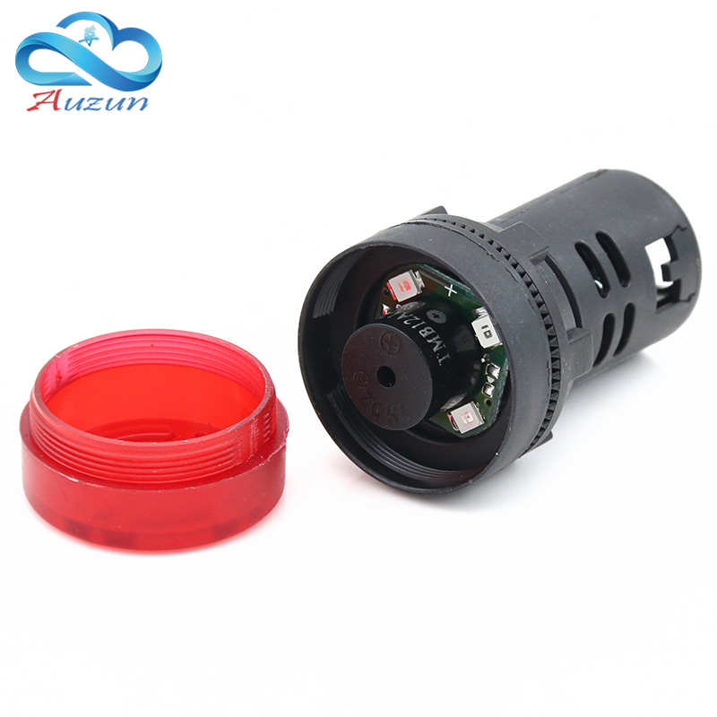 Intermittent sound flash buzzer ED16 22sm alarm device 22MM 12V 24V 110V 220V.|Indicator Lights| |  - title=