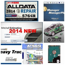 Hot Auto Repair Alldata Software V10.53+mitchell on demand 50 software Vivid 2015 usb 1TB hard disk all data DHL free shipping 2017 carprog dhl free car prog full v9 31 programmer repair tools mian unit with 21 full adapters with all software activated