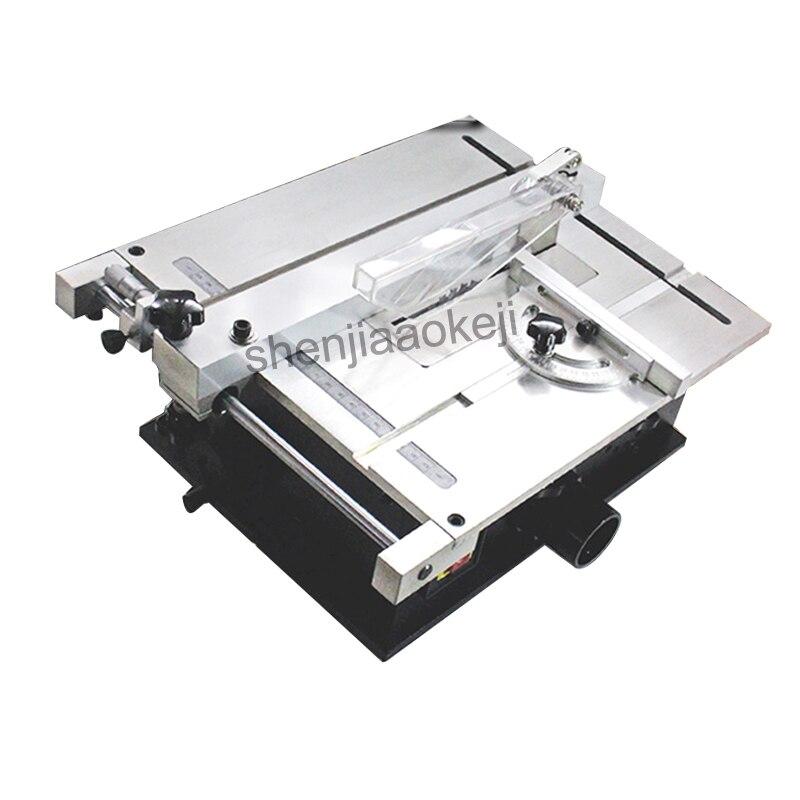 Micro Table découpeuse 240 W électrique petit sciage machines à bois Table scieuse circulaire scie Machine 220 V 1 PC