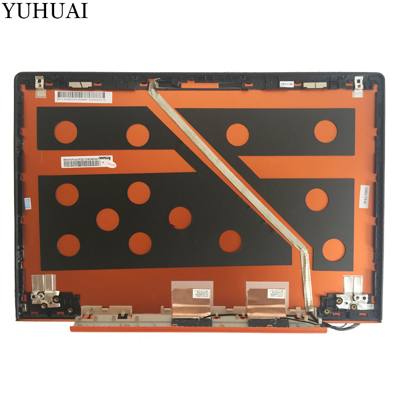 купить New LCD BACK COVER for Lenovo IdeaPad U330P U330 NO Touch LCD Rear Lid Back Cover orange 90203125 3CLZ5LCLV70 онлайн