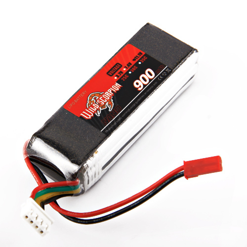 1pcs Wild Scorpion lipo battery 11.1V 900mAh 25C Li-polymer Battery For RC Quadcopter Drone Helicopter Car Airplane 1pcs wild scorpion rc lipo battery 11 1v 2200mah 35c li polymer rc battery for rc quadcopter drone helicopter car airplane