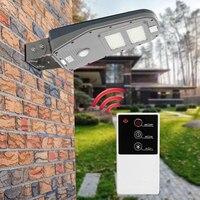 30 СВЕТОДИОДНЫЙ Уличный настенный светильник на солнечной батарее, наружный светильник, освещение на площади столба, батареи, дистанционное