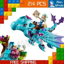 214pcs New The Water Dragon Adventure Building Brick Blocks Princess Gifts Kit Playset Toys Compatible With