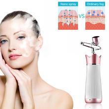 Face Massage Mini Face Spray Beauty Instruments  Facial Body Nebulizer Steamer Moisturizing Skin Care Portable Nano Mist Sprayer цена