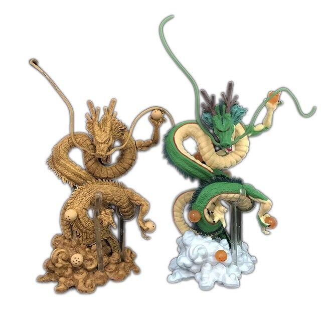 Novo Anime Dragon Ball Z Goku Shenlong Enrolamento de Energia Reativa Shenron Dragão Figuras de Ação Modelo Coleção Toy 15 cm F5