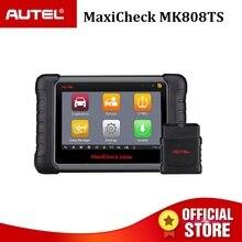 Autel MaxiCheck MK808TS OBD2 коннектор для прибора диагностики OBD 2 сканер Автомобильная OBDII код считывания ключа программирования датчик MX IMMO DPF