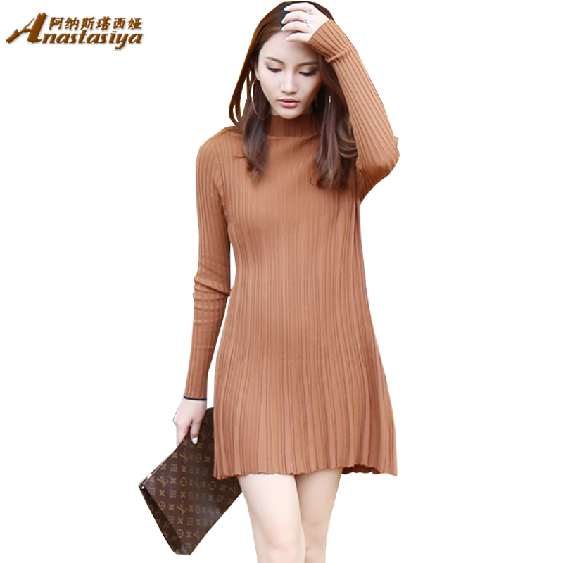 Long Sleeve Sweater Dresses