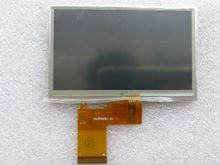 Original 4.3 inch TFT LCD display with touch panel 480(RGB)*272 resolution standard prodcut AV+VGA Driver Board Projection(China)