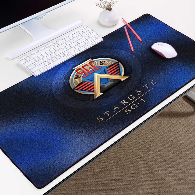 Congsipad Tv Show Stargate Earth Sg1 Logo Pattern Mousepad Mice Ma Pad Table Desk Pc Computer Mat Gaming Mousepad For Lol Csgo