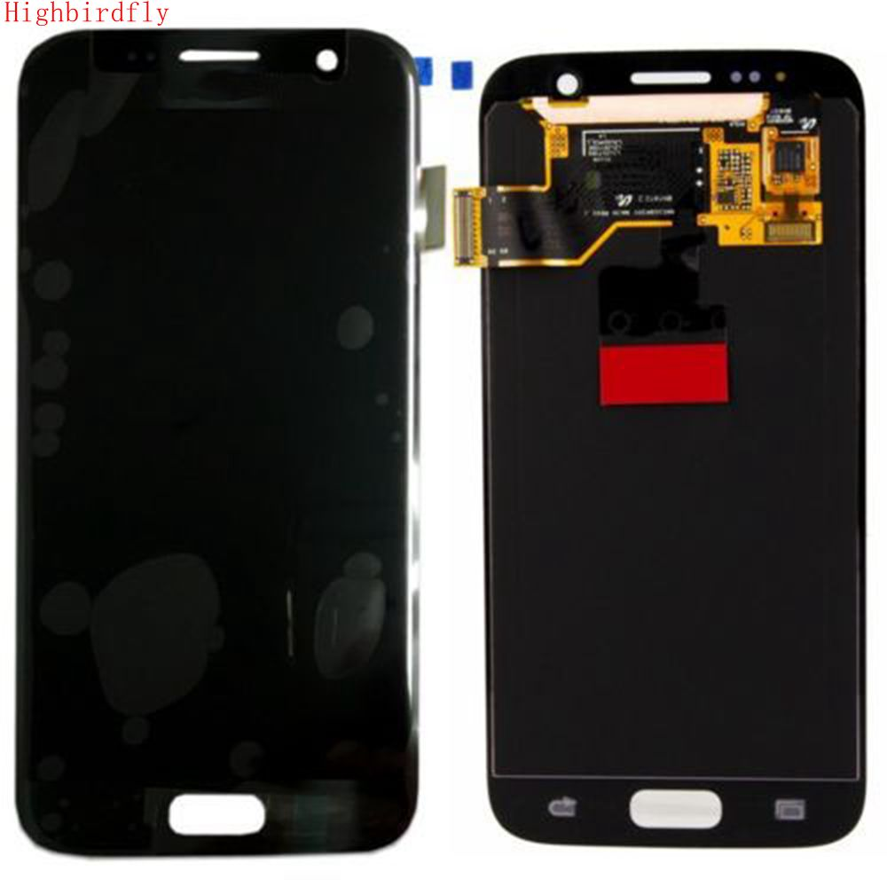 Amoled For Samsung Galaxy S7 G930 G930F G930FD Lcd Screen Display+Touch Glass DIgitizer Assembly Repair Amoled
