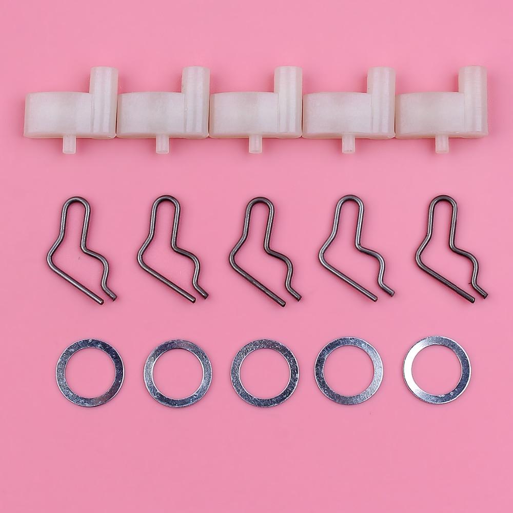 Recoil Starter Pawl Spring Washer Rope For Stihl FS45 FS55 BG55 BG65 BG85 TS400