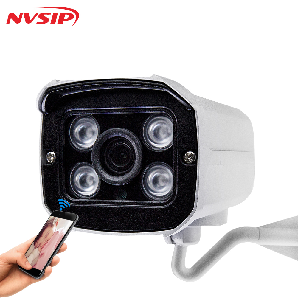 H.264 1MP Security IP Camera Outdoor CCTV Full HD 720P 1.0 Megapixel Bullet Camera IP 720P Lens IR Cut Filter ONVIF 4PCS Arrays
