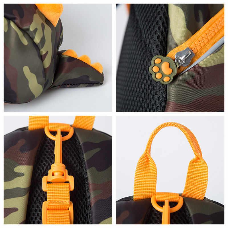 Мини-рюкзак в виде динозавра для мальчиков, школьный ранец с изображением мультяшных геров, Школьный Рюкзак Для маленьких мальчиков