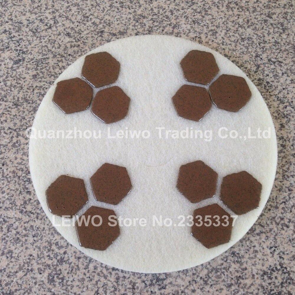 Diamond Sponge Polishing Pad 17 Inch Concrete Marble Floor