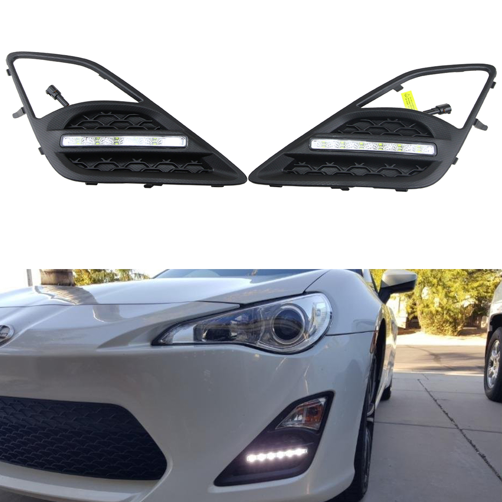 New accessories for FT86/GT86 (12~),for Subaru BRZ (12~),for Scion FR-S (12~) LED DRL led Daytime Running Light wordperfect® for windowstm