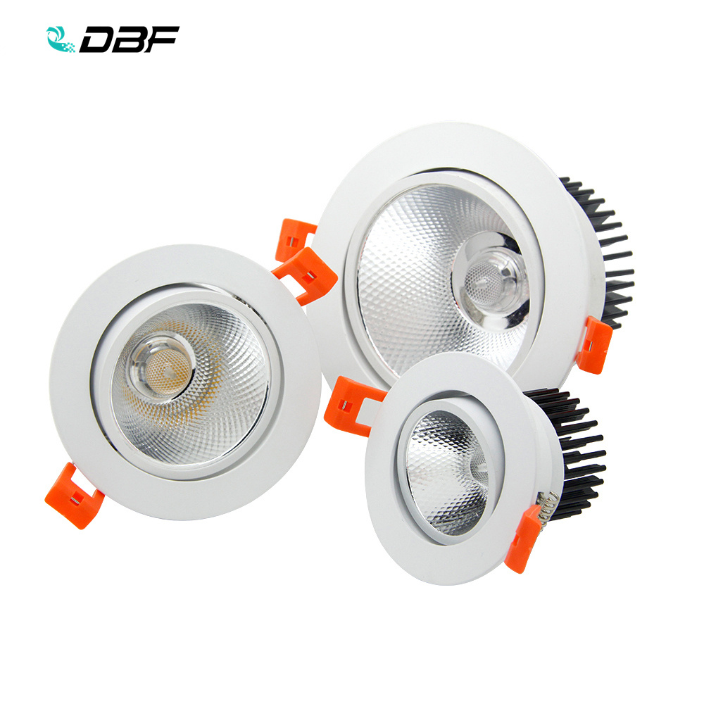 [DBF]COB LED Downlight 7W/9W/12W/15W/18W Not Dimmable LED Recessed Ceiling down light Gorgeous LED Bulb Indoor Spot lightings[DBF]COB LED Downlight 7W/9W/12W/15W/18W Not Dimmable LED Recessed Ceiling down light Gorgeous LED Bulb Indoor Spot lightings