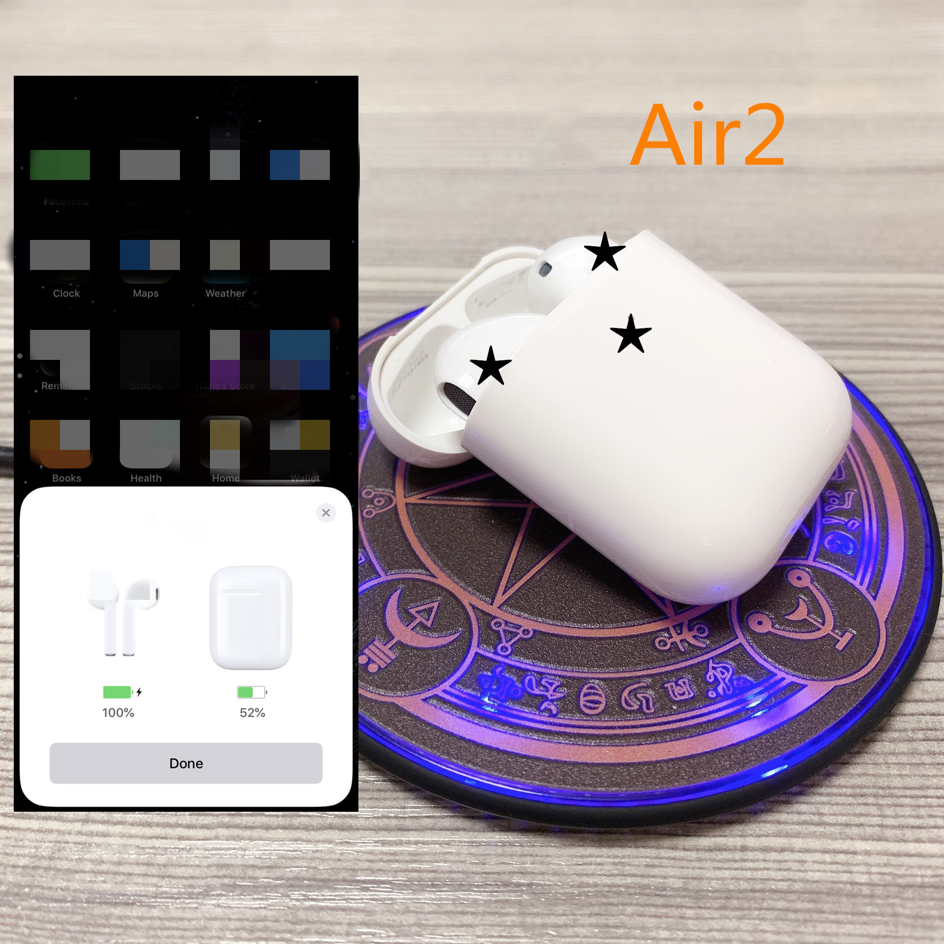 air Brand 2 with Charging Case Wireless Bluetooth Headphones Stereo Music Earphone for IOS with H1 chip high qualityair Brand 2 with Charging Case Wireless Bluetooth Headphones Stereo Music Earphone for IOS with H1 chip high quality