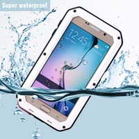 Ultra Thin Metal Shell Waterproof Anti Fall Anti Scratches Mobile Phones Shell Protecting Case For Samsung